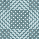 Blue and White Interlocking Circles Tiles Pattern Repeat Backgro Stock Images
