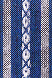 Blue and white knitting background Stock Images