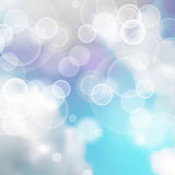 Blue and White Lights Sky Festive background Royalty Free Stock Photos
