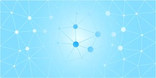 Blue White Low Poly Vector Background Royalty Free Stock Photos