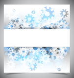 Blue and white modern abstract background Stock Photos