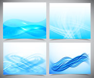 Blue and white modern futuristic backgrounds Stock Photo