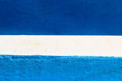 Blue and white painted abstract  background Stock Photo
