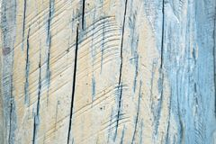 Blue white painted weathered wood texture background Royalty Free Stock Images