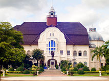 Blue - white palace. Royalty Free Stock Photos