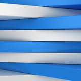 Blue and white panels Stock Image