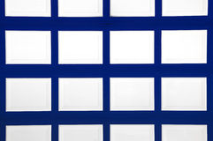 Blue and White Pattern Royalty Free Stock Photography