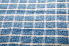 Blue and White Fabric Stock Photography