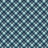 Blue Plaid Seamless Pattern stock illustration