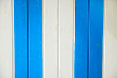 Blue and white planks Royalty Free Stock Photos