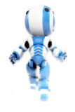 Blue & white robot Royalty Free Stock Image