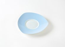 Blue and white saucer Stock Images
