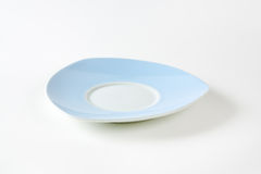 Blue and white saucer Royalty Free Stock Images