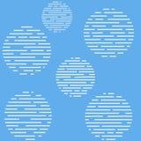 Blue white seamless pattern Stock Photography