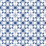 Blue and white seamless pattern. Royalty Free Stock Photo