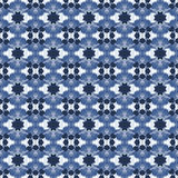Blue and white seamless pattern. Royalty Free Stock Photos