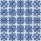 Blue and white seamless pattern. Royalty Free Stock Image