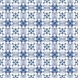 Blue and white seamless pattern. Stock Photo