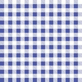 Blue and white seamless tablecloth Vector. Airy Blue and Riverside color. Seamless traditional tablecloth pattern Vector. Pastel b Royalty Free Stock Images
