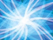 Blue abstract background. Blue white shapes abstract background vector stock illustration