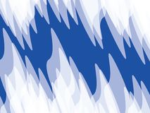 Blue and white background. Blue and white sharp abstract background Royalty Free Stock Images