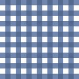 Blue white squared background. Pattern Stock Photos