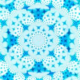 Blue and White Star Abstract Background Design Template royalty free stock image