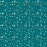 Blue and white stars. Seamless background with blue and white stars pattern Stock Photography