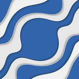 Abstract background with waves. Abstract wavy background. Blue and white stripes. Abstract background with waves. Abstract wavy background Stock Photo