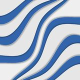 Abstract background with waves. Abstract wavy background. Blue and white stripes. Abstract background with waves. Abstract wavy background Stock Photos