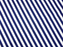 Blue and white stripes fabric close up texture background Stock Photography