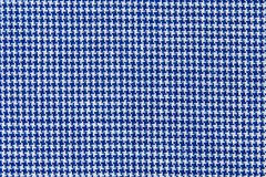 Blue and white stripes fabric closeup Stock Photography