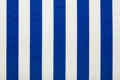 Blue and white stripes fabric, texture background Royalty Free Stock Photography