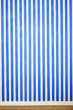 Blue and white stripes Royalty Free Stock Images