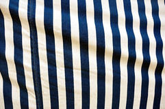 Blue and white stripes Royalty Free Stock Photos