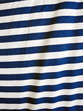 Blue and white stripes Stock Photo