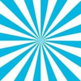 Blue white sunbeam background. Blue striped abstract wallpaper. Vector illustration.  stock illustration