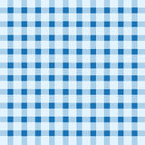 Blue and white tablecloth Stock Photography