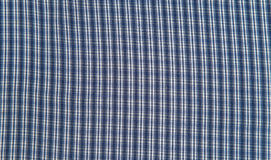 Blue and white tablecloth background , plaid fabric Royalty Free Stock Image