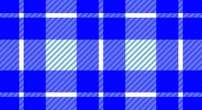 Blue and white tablecloth gingham checkered background.Texture f. Or:plaid,tablecloths,clothes, shirts,dresses,bedding,blankets.eps-10 Vector Illustration royalty free illustration