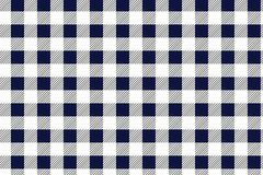 Blue and white tablecloth pattern, Texture from rhombus/squares for - plaid, tablecloths, clothes, shirts, dresses, paper,. Blankets and other textile products royalty free illustration