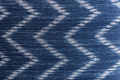 Blue and white textiles textured wallpaper Stock Images