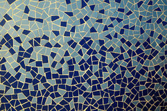 Blue and White Texture Mosaic Royalty Free Stock Images