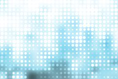 Blue and White Trendy Orbs Abstract Background Royalty Free Stock Photos