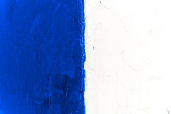 Blue and white wall texture Stock Images