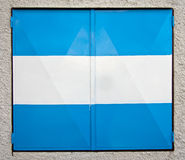 Blue and White Window Shutters  Royalty Free Stock Photo