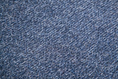 Blue and white woolen texture Stock Image