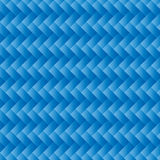 Blue Wicker Background Royalty Free Stock Image