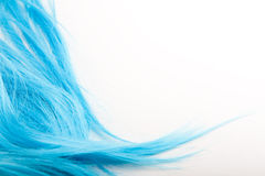Blue wig Royalty Free Stock Photos