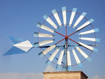 Free Blue Windmill 2 Stock Image - 5839831